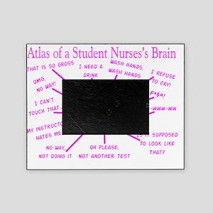 atlas student nurse brain PINK Picture Frame