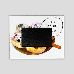 Chanukah Sameach Donuts Picture Frame