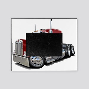 Kenworth w900 Maroon Truck Picture Frame