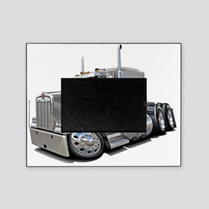 Kenworth w900 Silver Truck Picture Frame