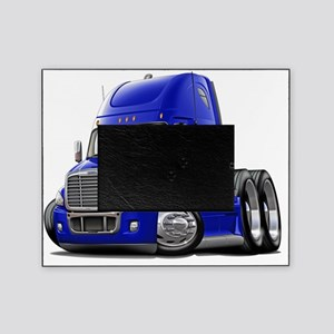 Freightliner Cascadia Blue Truck Picture Frame