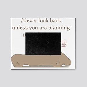 NEVER LOOK BACK Picture Frame
