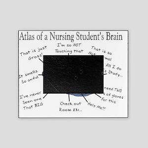 Atlas of a Nursing Student Brain II Picture Frame