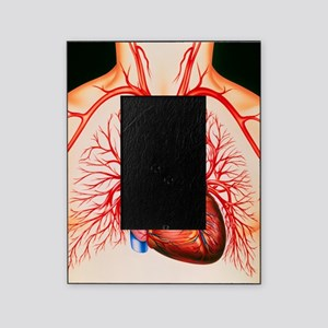 Human heart, artwork Picture Frame