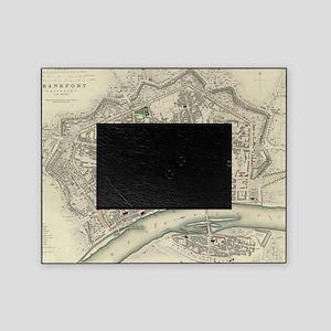 Vintage Map of Frankfurt Germany (18 Picture Frame