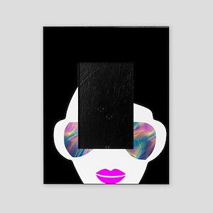 hologram afro girl Picture Frame