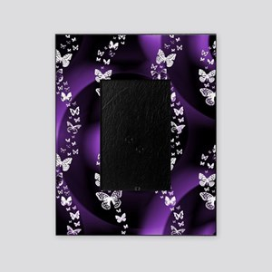 Purple Butterfly Swirl Picture Frame