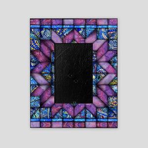 Purple Quilt Picture Frame