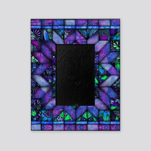 Blue Quilt Picture Frame