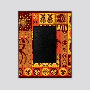 African Traditional Ornament Picture Frame