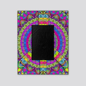 Peace Sign Mandala Picture Frame