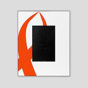 Awareness Ribbon (Orange) Picture Frame