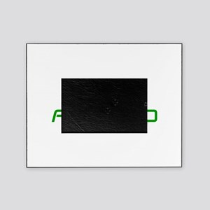 TEAM-ANDROID-SAVED-GREEN Picture Frame