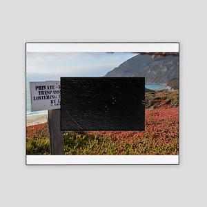 Private Coastline Picture Frame