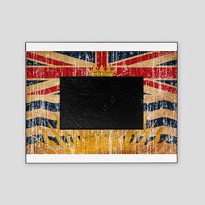 British Columbia Flag Picture Frame