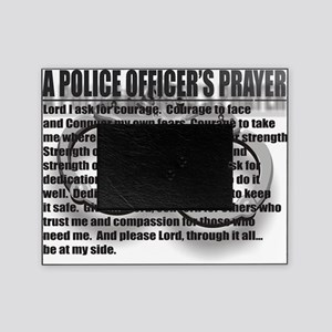 A POLICE OFFICERS PRAYER Picture Frame