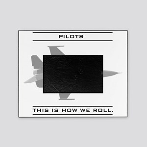 pilot_roll_bk Picture Frame
