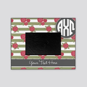 Alpha Chi Omega Rose Picture Frame