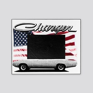 Charger USA flag Picture Frame