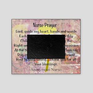 Nurse prayer blanket PINK Picture Frame