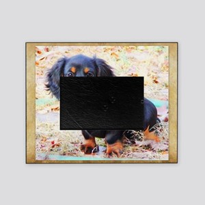 Puppy Love Doxie Picture Frame