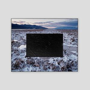 Flooded salt flat Picture Frame