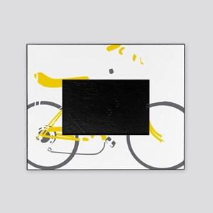 bananna bike dark Picture Frame