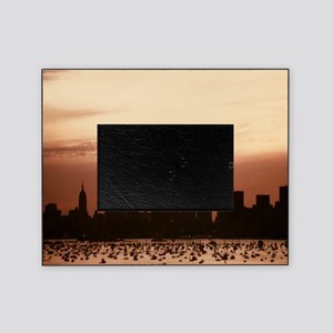 Dawn Over Liberty Picture Frame