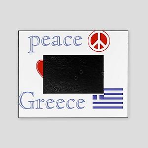 PeaceLoveGreece Picture Frame