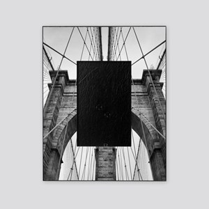 Brooklyn Bridge New York City close Picture Frame