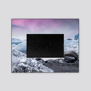 Glaciers of Iceland Picture Frame