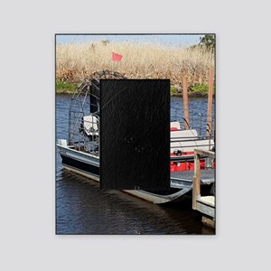 Florida swamp airboat Picture Frame
