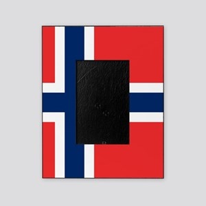 Flag of Norway Picture Frame