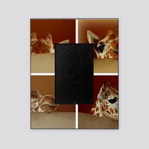 Giraffe Collage Picture Frame