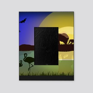 Animals African Landscape Picture Frame