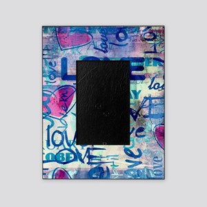 Abstract Love Painting Picture Frame