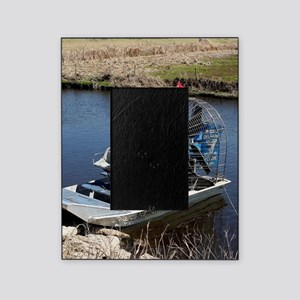 Florida swamp airboat 2 Picture Frame