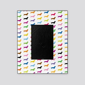 Colorful Dachshunds Picture Frame