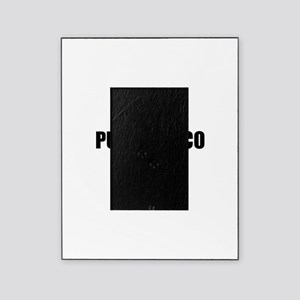 I Love Puerto Rico Picture Frame