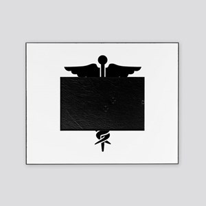 Medical Symbol Caduceus Picture Frame