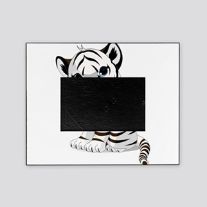 Baby White Tiger Picture Frame