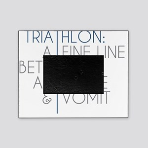 Triathlon Awesome Vomit Picture Frame