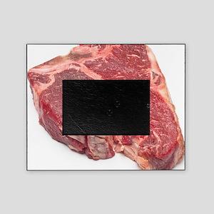Raw T-bone steak Picture Frame