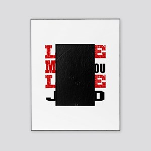Love Me Like You Love Judo Picture Frame