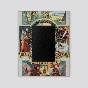 Loyalty Patriotism Service 1916 Picture Frame