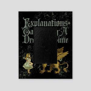 alice-explanations_12x18 Picture Frame