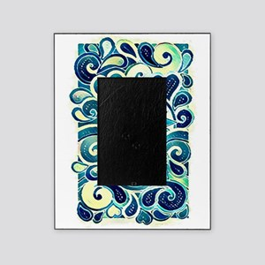 Colorful Hippie Art Picture Frame