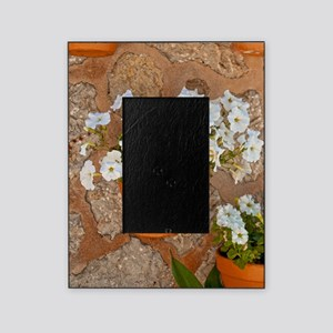 Wall with flowers Picture Frame