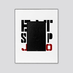 Eat Sleep Judo Picture Frame