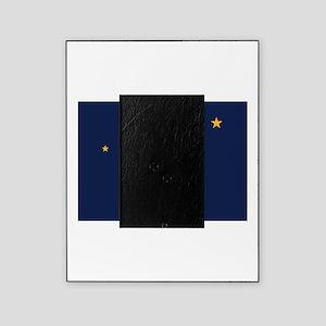 Flag of Alaska Picture Frame